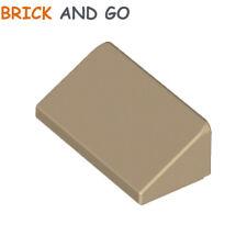 6 x LEGO 85984 Brique Toit Pente (beige dark tan) Roof Brick 1x2 Slope NEUF NEW