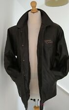 NICKELSON Classics Leather Western Ranch Jacket Coat Mans Mens Size M/L Brown