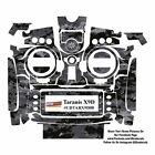 Black Camouflage Frsky Taranis X9D Plus X9D+ Transmitter Skin Wrap Sticker Decal