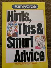 Family circle hints tips and smart advice, 2000 Bright Ideas, Hardcover