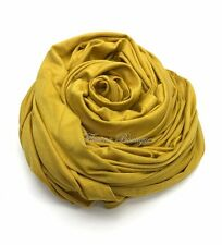 Maxi Stretchy PLAIN JERSEY Hijab head Scarf shawl wrap top quality muslim women