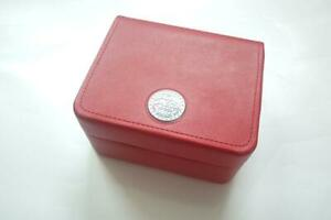 omega watch box in red