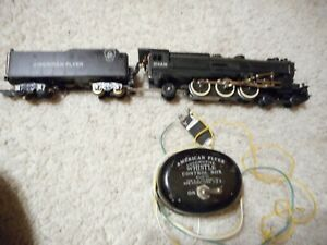 S SCALE AMERICAN FLYER #314AW 4-6-2 STEAMER WITH CONTROLLER