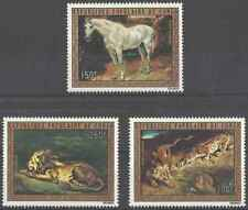 Timbres Animaux Arts Tableaux Congo PA161/3 * lot 28145