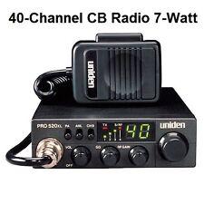 CB Radios Uniden PRO520XL 40 Channel 7 Wat Car Boat Marine Mobile Truck Hunting