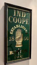 More details for a framed cast iron mid c20th ind coope breweryania advertising pub sign