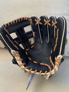 "NWT-Mizuno Pro Select Baseball Glove 11.75"" RHT GPS1BK-600RRG"