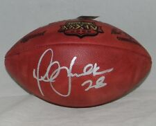 MARSHALL FAULK AUTOGRAPHED SIGNED SUPER BOWL XXXIV 34 WILSON FOOTBALL RAMS JSA