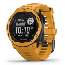 Garmin Instinct 45mm Cassa di Polimero Fibrorinforzato, Cinturino di Silicone, Orologio GPS - Sunburst (010-02064-03