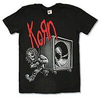 Korn Bring the Noise T-Shirt Black S XL Licensed Metal Rock Band Shirt New
