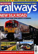 MODERN RAILWAYS 822 MAR 2017 IOW,HS2 Procurement,Anglia,Crossrail2,Gotthard Tun