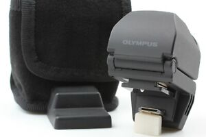 【 EXC+++++ in Case 】 Olympus Electronic View Finder VF-2 VF2 BLACK From JAPAN