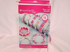 NIB American Girl Crafts Paper Bead Wrap & Roll Bracelet Kit Age 8+