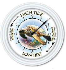 Tide Clock Sea Turtle - Times Of Tides - Marine Beach Ocean Boating Surfing GIFT