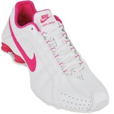 NEW NIKE WOMEN SIZE 11 US JUNIOR RUNNING SHOES PINK WHITE 100% AUTHENTIC