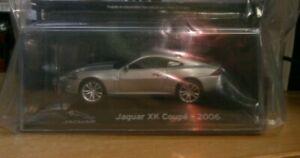 Panini Supercars Collection Partwork #65 Diecast 1:43 Model Jaguar XK Coupe 2006