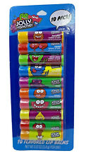 Jolly Ranchers flavored 10 pack lip balm set