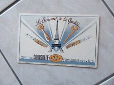 BUVARD COUTELLERIE COURSOLLE TOUR EIFFEL COUTEAUX 1950