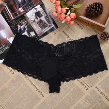 XL Sissy Men Lace Underwear Boxer Briefs Shorts Panties Gay Underpants Lingerie