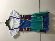 Leg Adventure ladies size large Gypsy Fortune Teller Esmeralda costume
