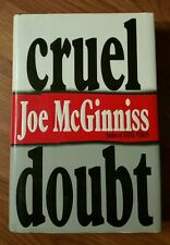 Cruel Doubt by Joe McGinniss (1991, Hardcover)