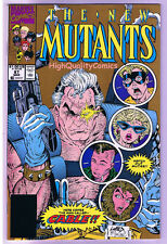 NEW MUTANTS #87,  NM, 1st Cable, 2nd print, Mutants, more Marvel in store