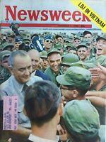 LBJ IN VIETNAM November 7, 1966 NEWSWEEK Magazine CHINA GETS THE NUCLEAR BOMB