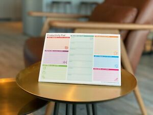 Productivity Pad, Daily & Weekly Planner, To Do List, A5 Organiser ✅
