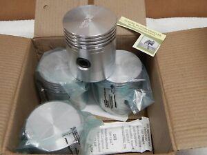 Willys CJ2A Piston and Ring Set, Standard. L134 F134. MB/GPW. CJ2A.