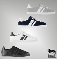 Mens Branded Lonsdale Stylish Everyday Lace Tufnell Trainers Shoes Size 7-11