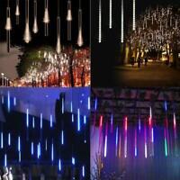 Meteor shower snow LED lights 50 cm 8 tube romantic lighting for garden holidays