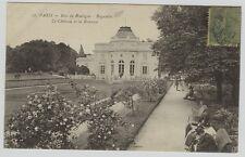 17 PARIS Bois de Boulogne Bagatelle Le Château et la Roseraie 1917
