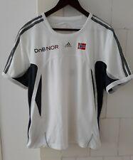 Norway NORGE Athletics Athlete Issue Training T Shirt Adidas medium M L Large