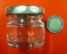 Kit da 60 vasi vasetti vetro monodose da ml 30 tappo d.43 segnaposto bomboniere
