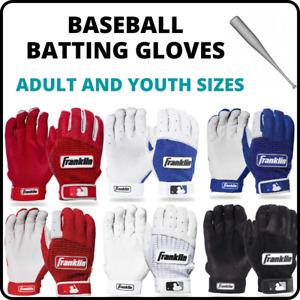 Franklin Sports Mlb Cfx Pro Baseball And Softball Batting Gloves Youth / Adult