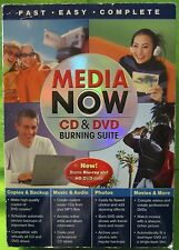 Media Now CD & DVD Burning Suite Burns Blu-ray & HD DVD data too