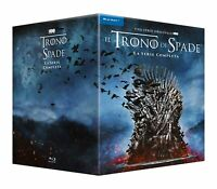 Cofanetto Il Trono di Spade Stagioni 1-8 (33 Blu Ray, italiano) Box Nuovo
