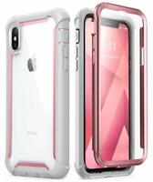 """iPhone Xs Max 6.5"""" Case i-Blason Ares 360 Full Protection Cover+Screen Protector"""