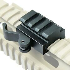 Tactical Compact Quick Release Picatinny Weaver Rail Rifle Scope Mount ety