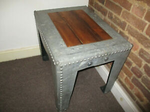Upcycled Industrial Coffee Table
