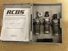 RCBS 9mm 3pc Carbide TC Die Set 9mm Luger, 9x21, 9x23