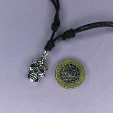 Pendientes de plata esterlina colgante de cráneo