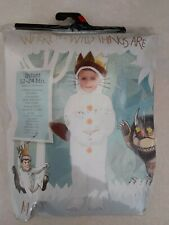 Max Costume Where the Wild Things Are Infant Baby 12-24 months NEW Halloween