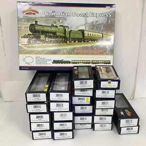 BACHMANN BRANCH LINE EMPTY BOXES FOR CAMBRIAN SET COACHES & WAGONS OO GAUGE x 25