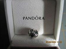 Sterling Silver Pandora Green Soccer Ball Charm