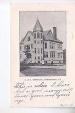 B & W  Leland and Gray Seminary Townshend VT