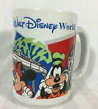 Walt Disney World Parks Coffee Mug Mgm Studios Epcot Magic Kingdom