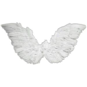 Small White Wings Adult Halloween Costume Fancy Dress
