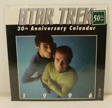Star Trek 1996 Calendar 30th Anniversary Edition - Sealed