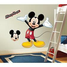 "Disney MICKEY MOUSE wall stickers MURAL decals Clubhouse 36"" party stickups"